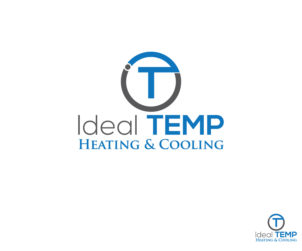 Logo Design by Mosharaf Karim - Entry No. 42 in the Logo Design Contest Captivating Logo Design for Ideal Temp.