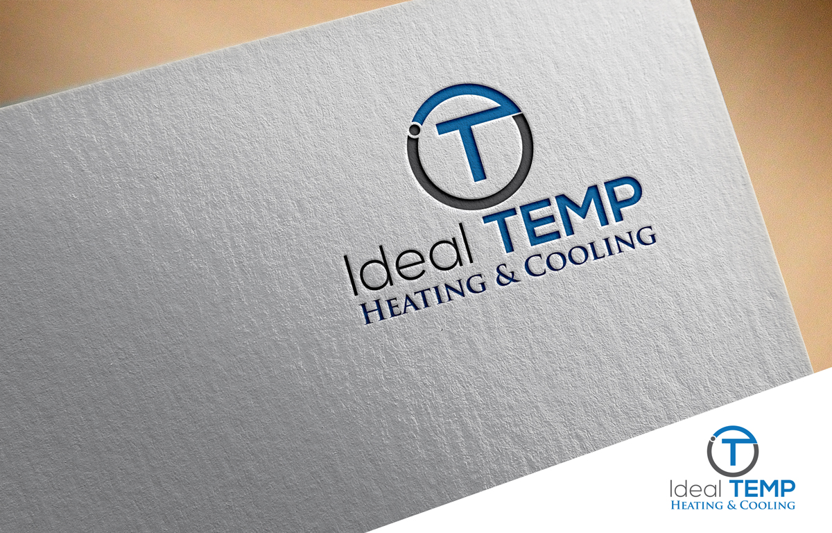 Logo Design by Mosharaf Karim - Entry No. 43 in the Logo Design Contest Captivating Logo Design for Ideal Temp.