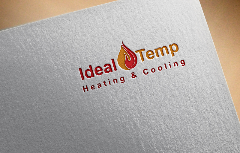 Logo Design by Ashraful Alam - Entry No. 48 in the Logo Design Contest Captivating Logo Design for Ideal Temp.