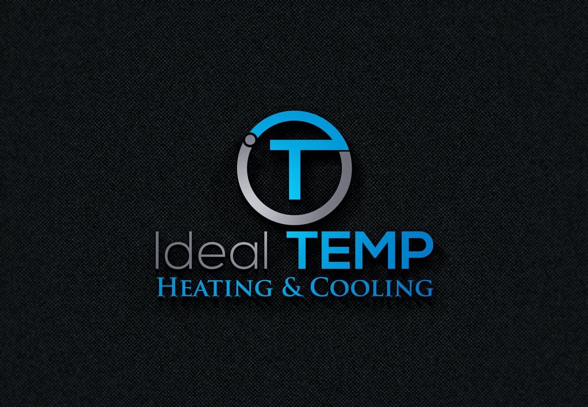 Logo Design by Mosharaf Karim - Entry No. 49 in the Logo Design Contest Captivating Logo Design for Ideal Temp.