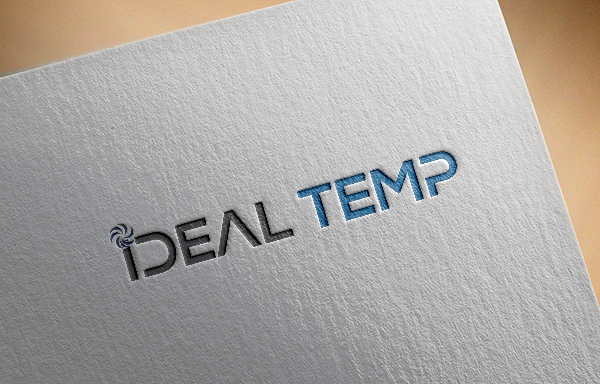 Logo Design by Shathi Islam - Entry No. 52 in the Logo Design Contest Captivating Logo Design for Ideal Temp.