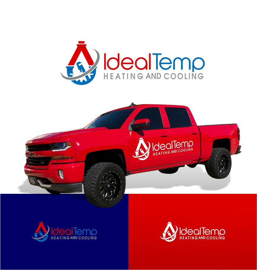 Logo Design by Raymond Garcia - Entry No. 53 in the Logo Design Contest Captivating Logo Design for Ideal Temp.