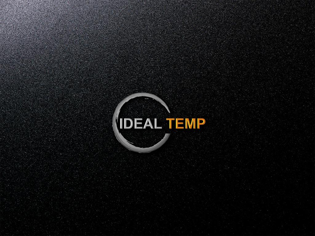 Logo Design by Kawsar Alam - Entry No. 54 in the Logo Design Contest Captivating Logo Design for Ideal Temp.