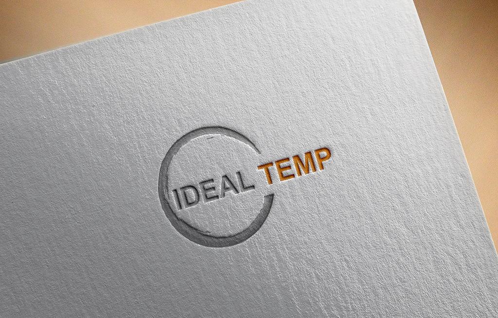 Logo Design by Kawsar Alam - Entry No. 55 in the Logo Design Contest Captivating Logo Design for Ideal Temp.