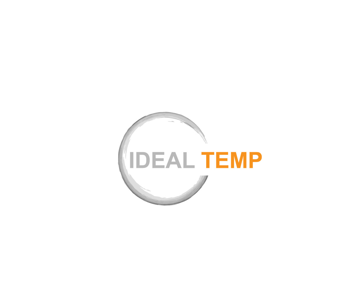 Logo Design by Kawsar Alam - Entry No. 56 in the Logo Design Contest Captivating Logo Design for Ideal Temp.