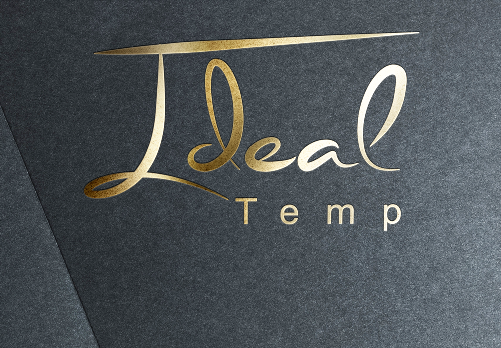 Logo Design by Mariam Mou - Entry No. 57 in the Logo Design Contest Captivating Logo Design for Ideal Temp.