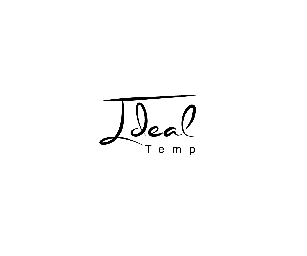 Logo Design by Mariam Mou - Entry No. 58 in the Logo Design Contest Captivating Logo Design for Ideal Temp.