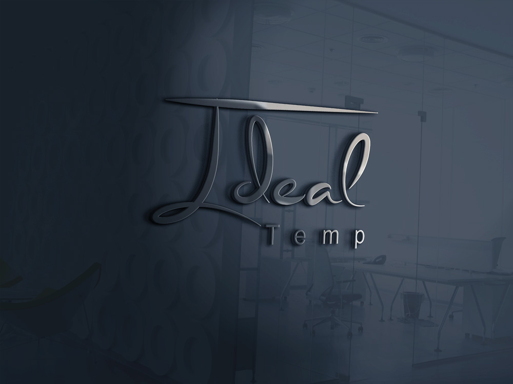 Logo Design by Mariam Mou - Entry No. 62 in the Logo Design Contest Captivating Logo Design for Ideal Temp.