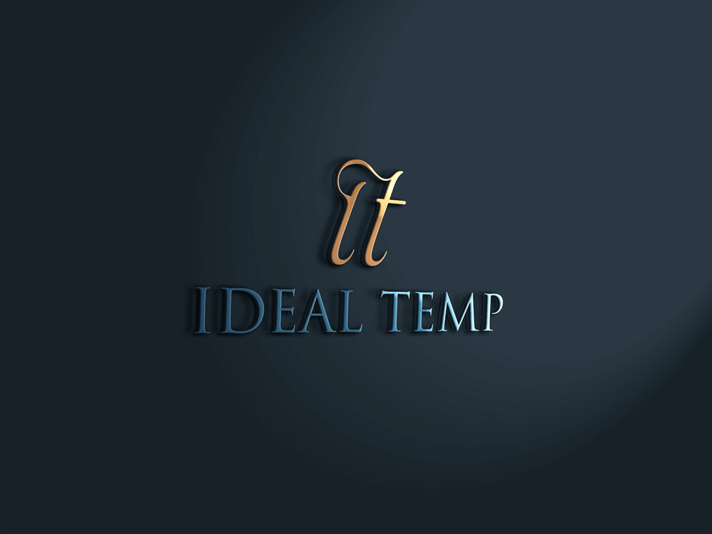 Logo Design by Mariam Mou - Entry No. 65 in the Logo Design Contest Captivating Logo Design for Ideal Temp.