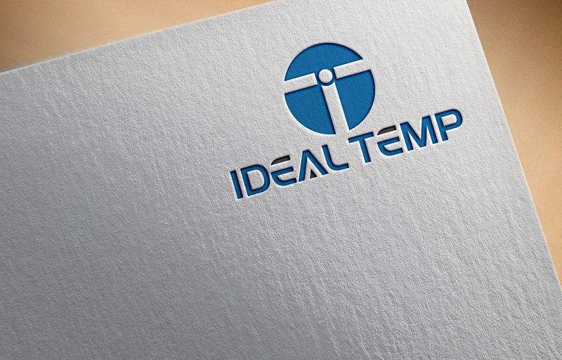 Logo Design by Black Design - Entry No. 68 in the Logo Design Contest Captivating Logo Design for Ideal Temp.