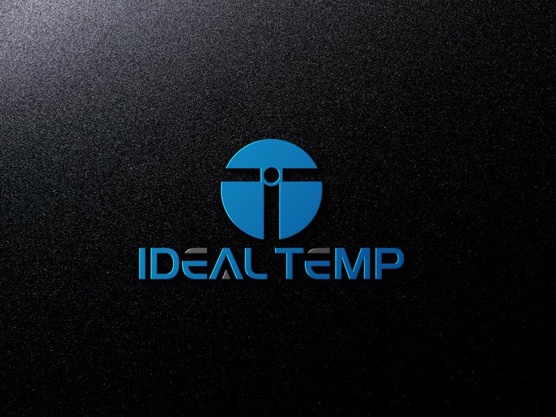 Logo Design by Black Design - Entry No. 70 in the Logo Design Contest Captivating Logo Design for Ideal Temp.