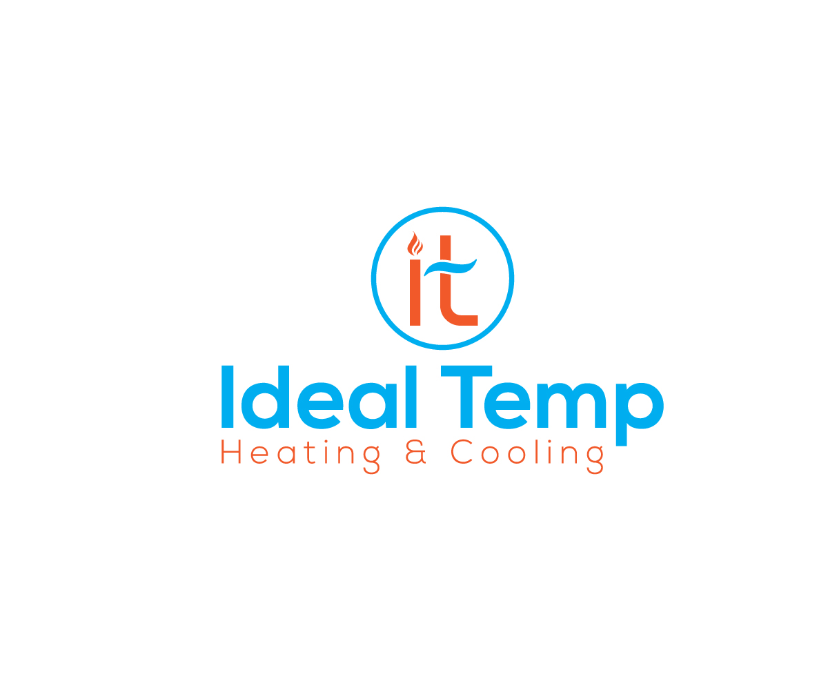 Logo Design by Zannatul Ferdous - Entry No. 78 in the Logo Design Contest Captivating Logo Design for Ideal Temp.