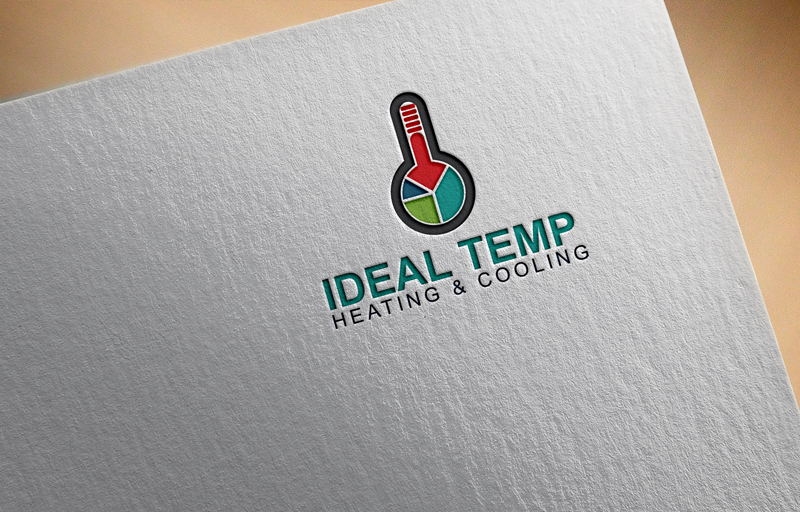 Logo Design by Mdkausar Hossain - Entry No. 80 in the Logo Design Contest Captivating Logo Design for Ideal Temp.
