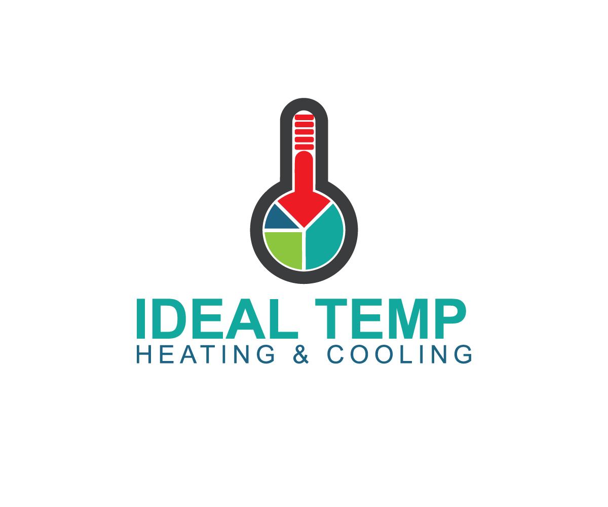 Logo Design by Mdkausar Hossain - Entry No. 83 in the Logo Design Contest Captivating Logo Design for Ideal Temp.