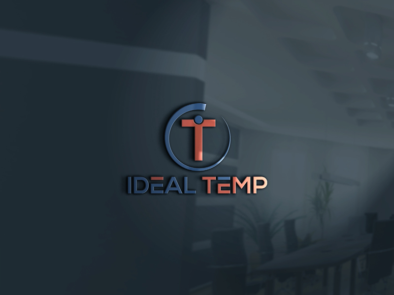 Logo Design by Imtiaz Hossain - Entry No. 84 in the Logo Design Contest Captivating Logo Design for Ideal Temp.