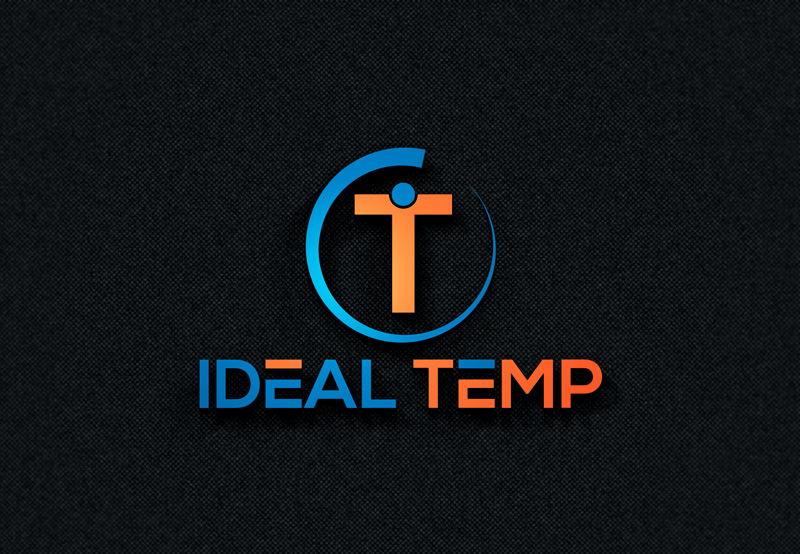 Logo Design by Imtiaz Hossain - Entry No. 87 in the Logo Design Contest Captivating Logo Design for Ideal Temp.