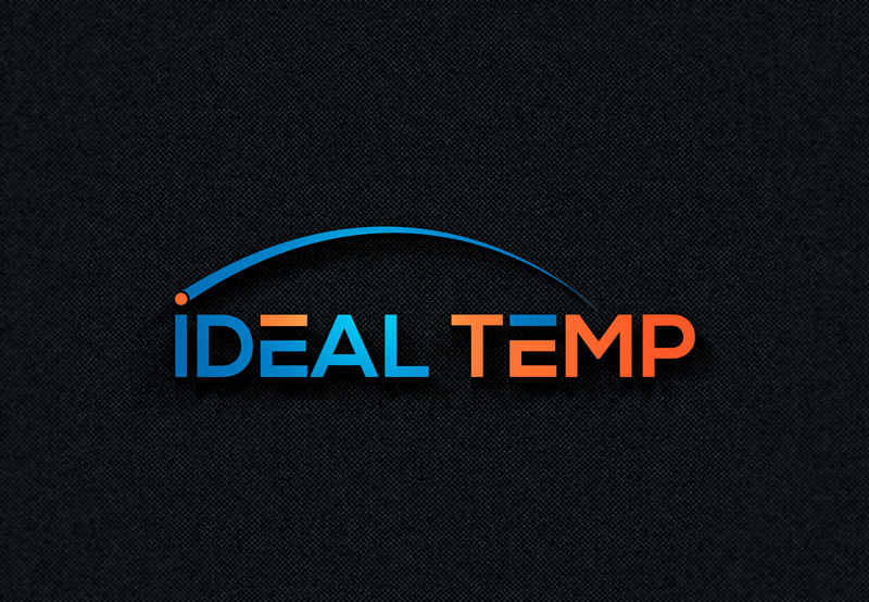 Logo Design by Imtiaz Hossain - Entry No. 88 in the Logo Design Contest Captivating Logo Design for Ideal Temp.