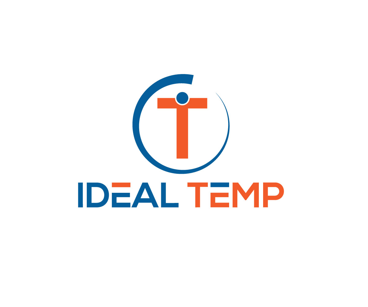 Logo Design by Imtiaz Hossain - Entry No. 90 in the Logo Design Contest Captivating Logo Design for Ideal Temp.