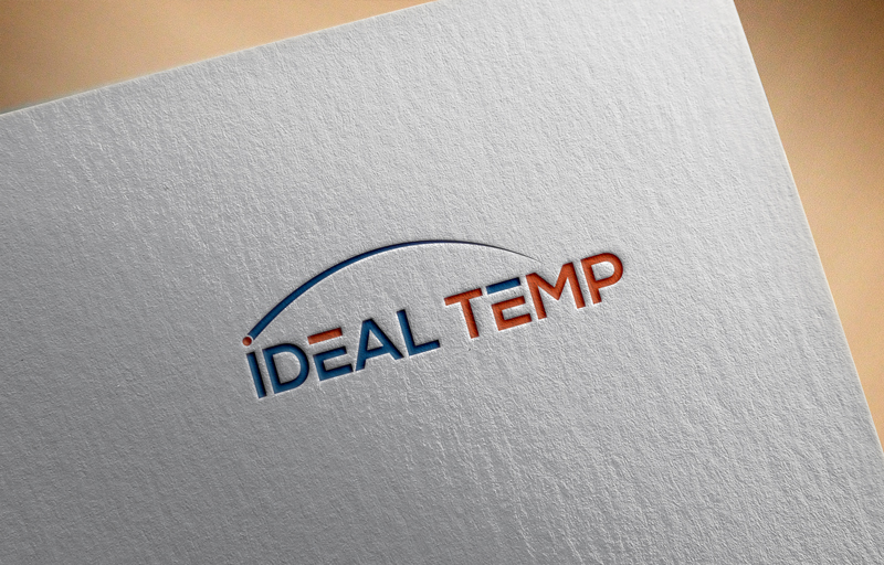 Logo Design by Imtiaz Hossain - Entry No. 91 in the Logo Design Contest Captivating Logo Design for Ideal Temp.