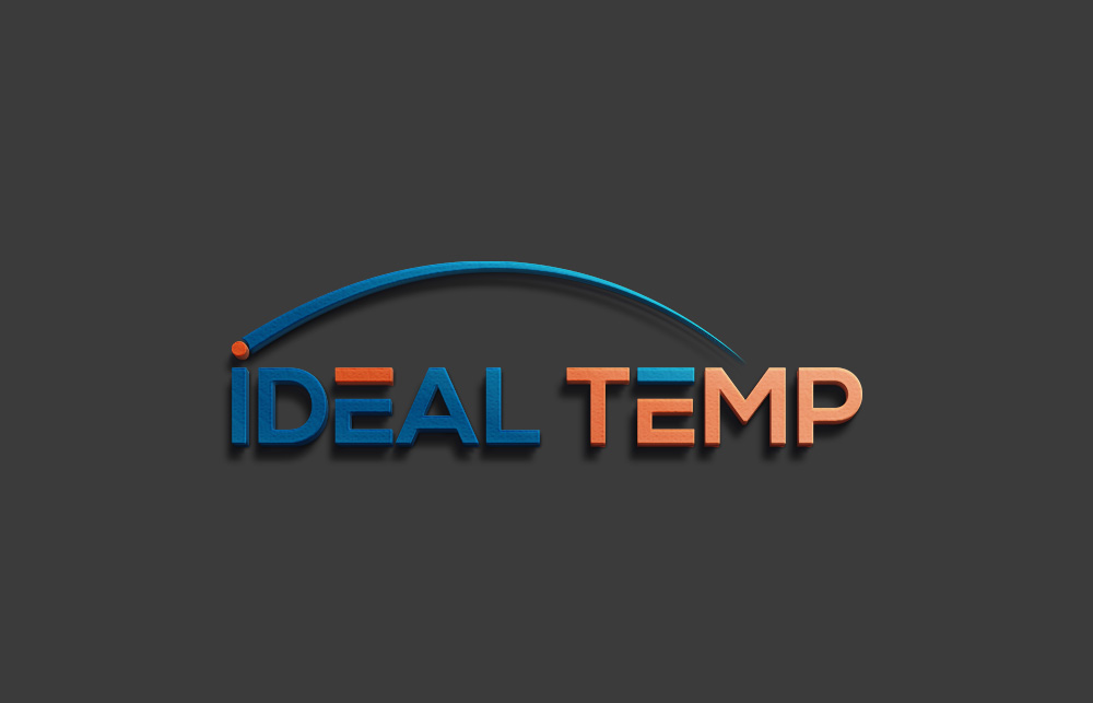 Logo Design by Imtiaz Hossain - Entry No. 92 in the Logo Design Contest Captivating Logo Design for Ideal Temp.