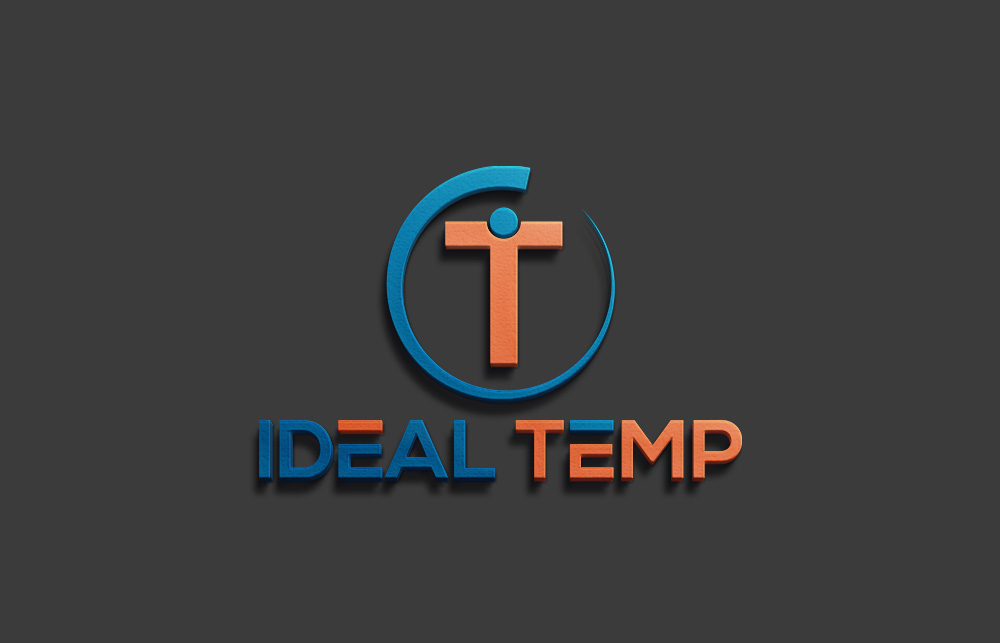 Logo Design by Imtiaz Hossain - Entry No. 94 in the Logo Design Contest Captivating Logo Design for Ideal Temp.