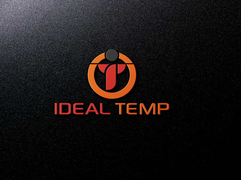 Logo Design by Salah Uddin - Entry No. 99 in the Logo Design Contest Captivating Logo Design for Ideal Temp.