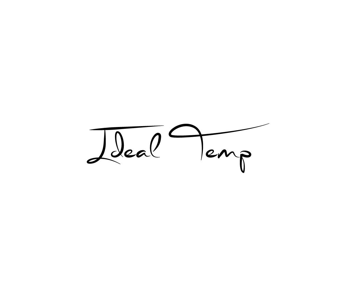 Logo Design by Masum Billah - Entry No. 100 in the Logo Design Contest Captivating Logo Design for Ideal Temp.