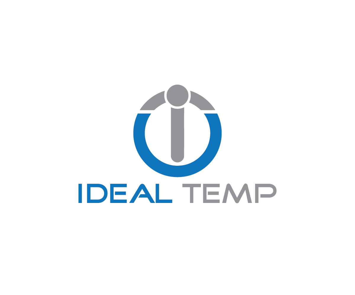 Logo Design by Salah Uddin - Entry No. 101 in the Logo Design Contest Captivating Logo Design for Ideal Temp.