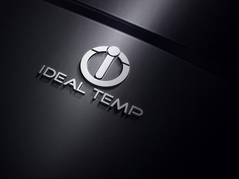 Logo Design by Salah Uddin - Entry No. 103 in the Logo Design Contest Captivating Logo Design for Ideal Temp.