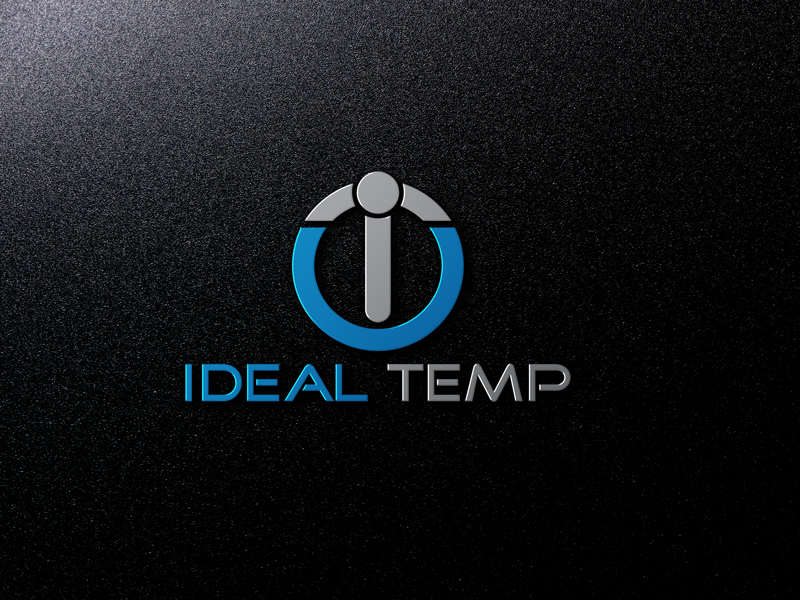 Logo Design by Salah Uddin - Entry No. 105 in the Logo Design Contest Captivating Logo Design for Ideal Temp.