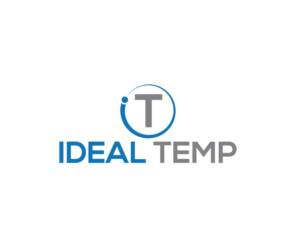 Logo Design by Nur Designer - Entry No. 111 in the Logo Design Contest Captivating Logo Design for Ideal Temp.