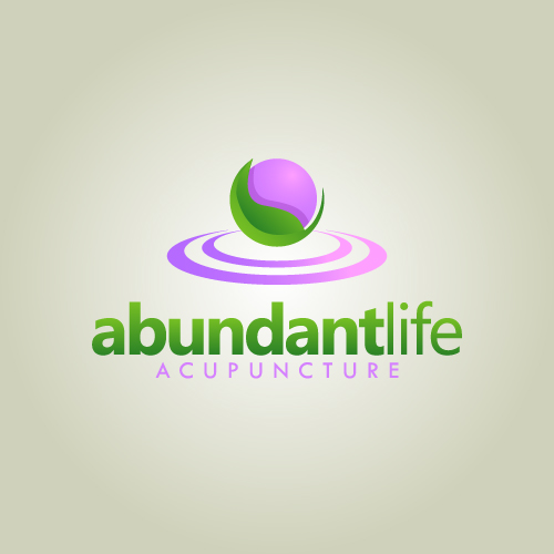 Logo Design by SilverEagle - Entry No. 119 in the Logo Design Contest abundant life acupuncture.