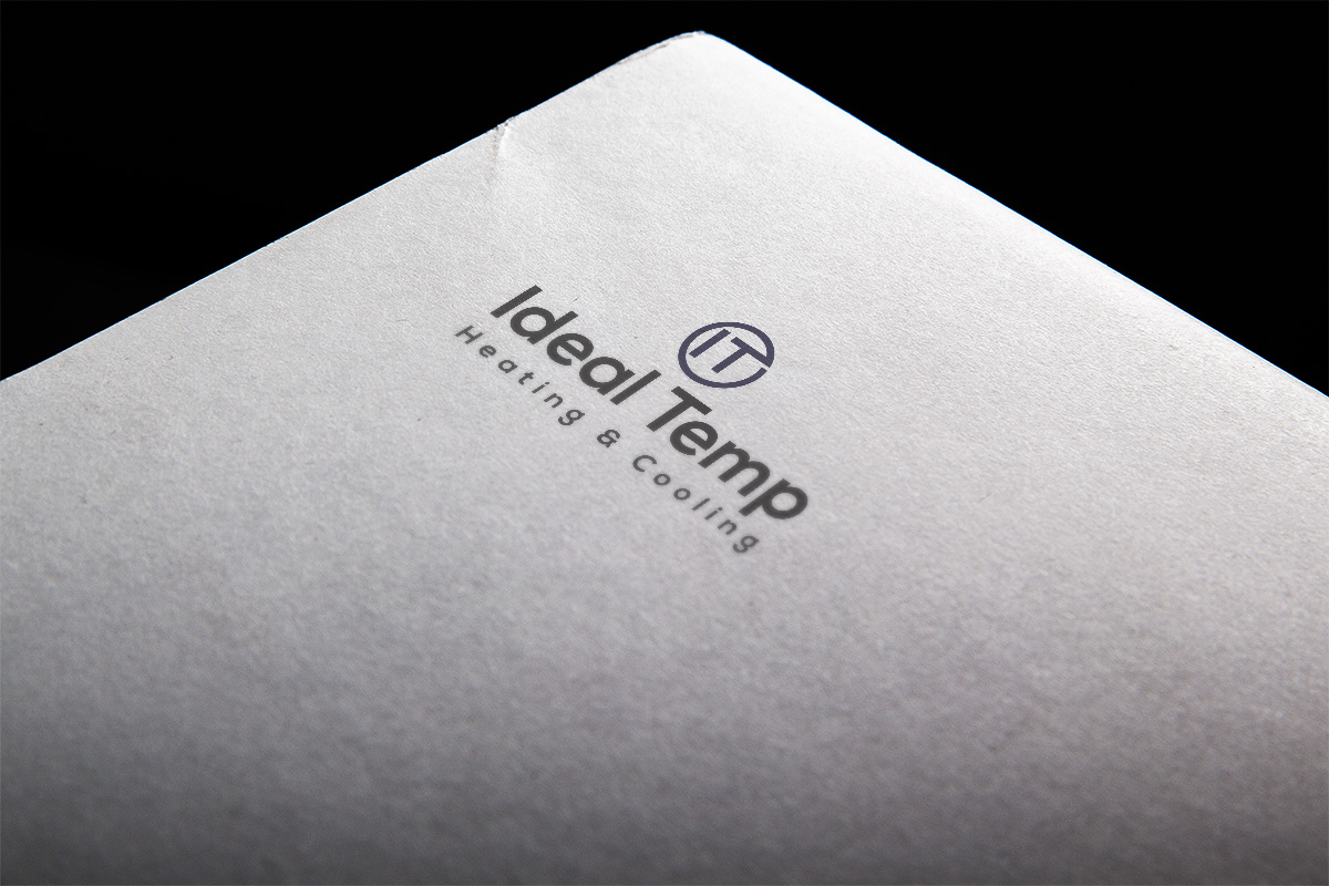 Logo Design by Lutful Ferdous - Entry No. 115 in the Logo Design Contest Captivating Logo Design for Ideal Temp.
