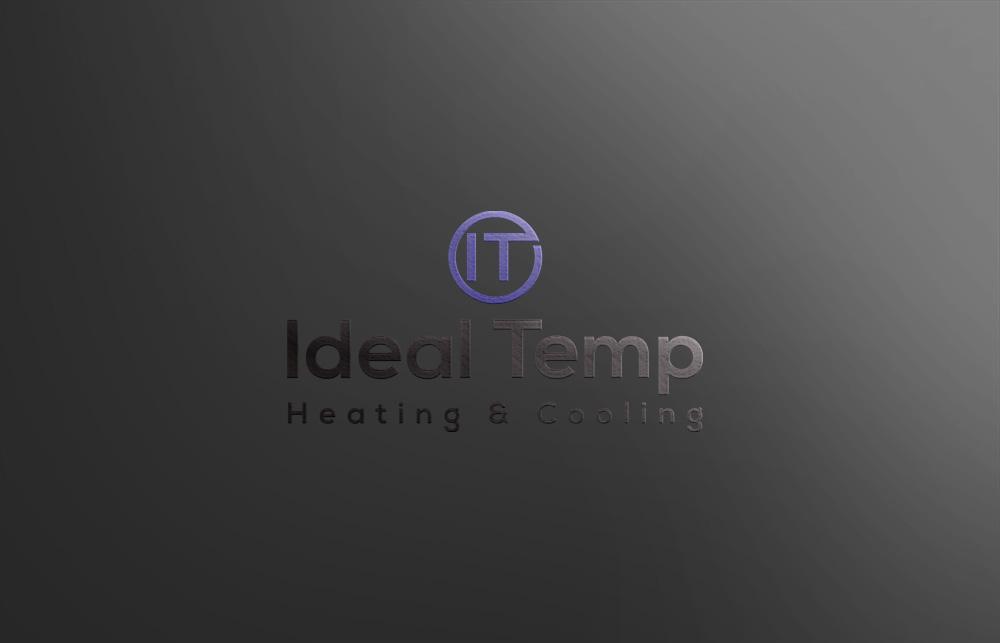 Logo Design by Lutful Ferdous - Entry No. 116 in the Logo Design Contest Captivating Logo Design for Ideal Temp.
