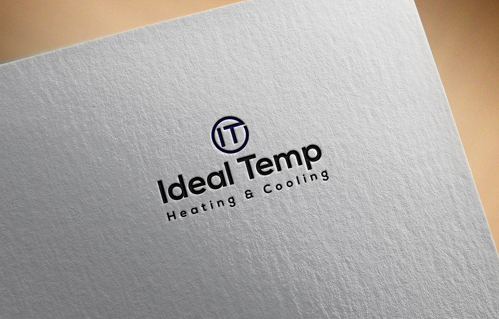 Logo Design by Lutful Ferdous - Entry No. 118 in the Logo Design Contest Captivating Logo Design for Ideal Temp.