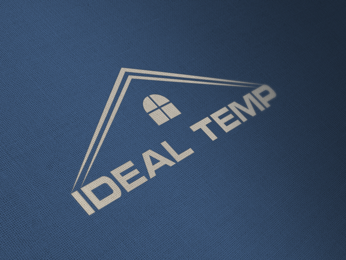 Logo Design by Saiful Islam - Entry No. 119 in the Logo Design Contest Captivating Logo Design for Ideal Temp.