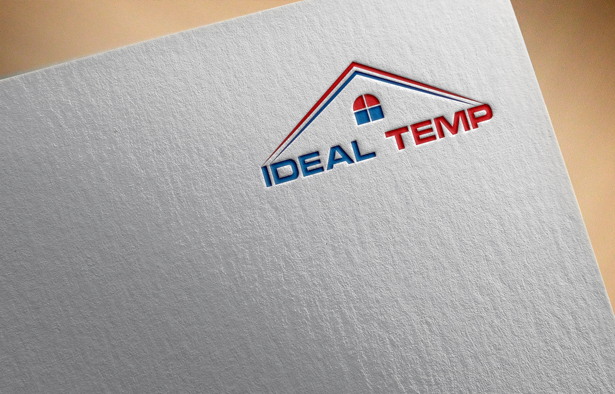 Logo Design by Saiful Islam - Entry No. 120 in the Logo Design Contest Captivating Logo Design for Ideal Temp.