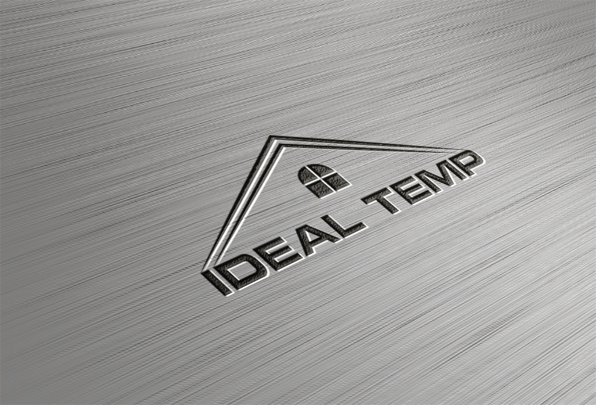 Logo Design by Saiful Islam - Entry No. 122 in the Logo Design Contest Captivating Logo Design for Ideal Temp.