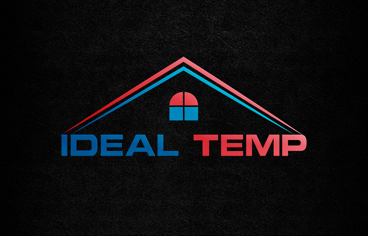 Logo Design by Saiful Islam - Entry No. 123 in the Logo Design Contest Captivating Logo Design for Ideal Temp.