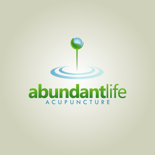 Logo Design by SilverEagle - Entry No. 121 in the Logo Design Contest abundant life acupuncture.