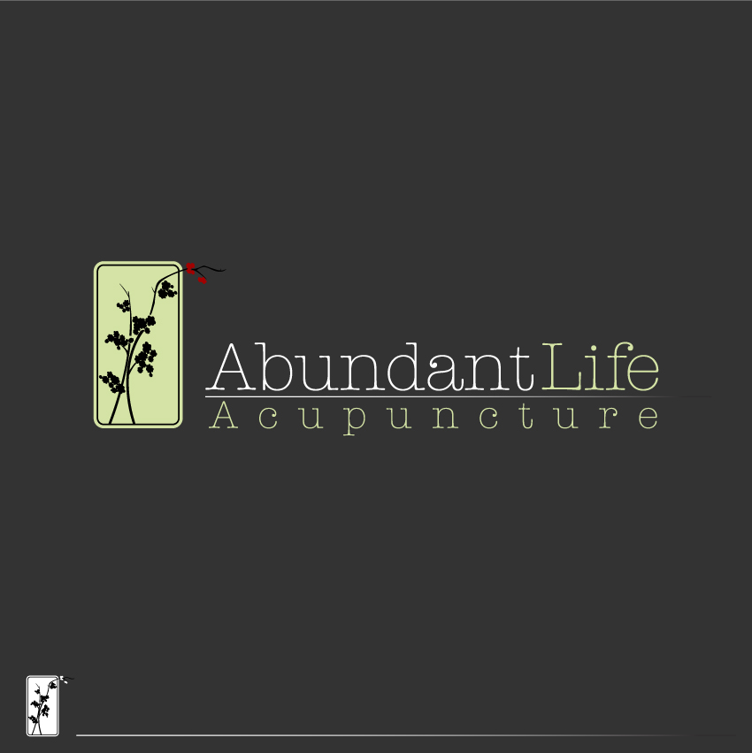 Logo Design by trav - Entry No. 122 in the Logo Design Contest abundant life acupuncture.