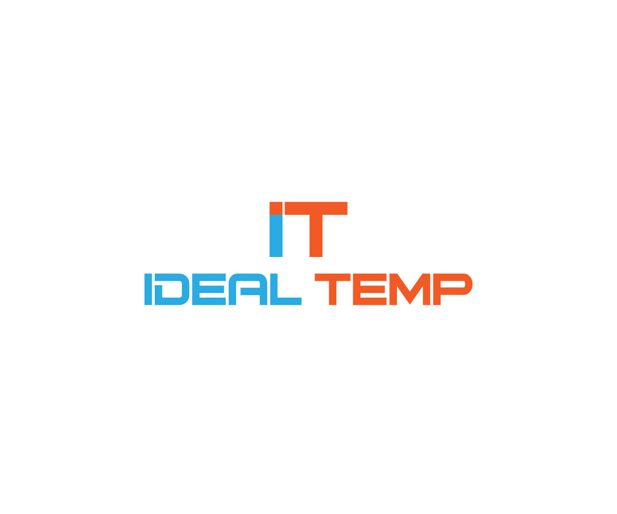 Logo Design by Abdur Rahman - Entry No. 126 in the Logo Design Contest Captivating Logo Design for Ideal Temp.