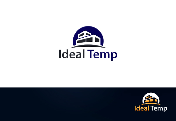 Logo Design by Md nayeem Khan - Entry No. 127 in the Logo Design Contest Captivating Logo Design for Ideal Temp.