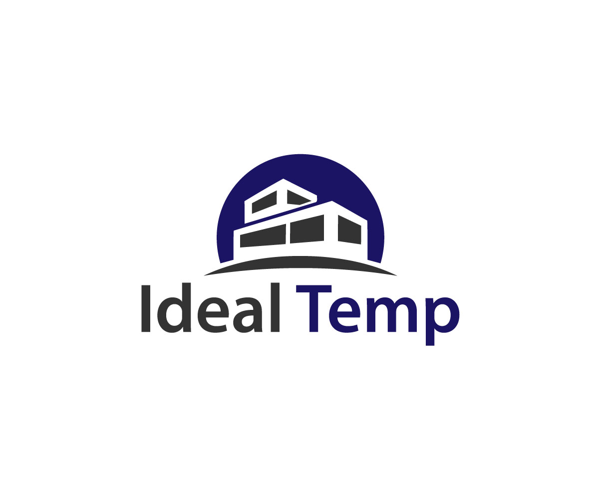 Logo Design by Md nayeem Khan - Entry No. 129 in the Logo Design Contest Captivating Logo Design for Ideal Temp.
