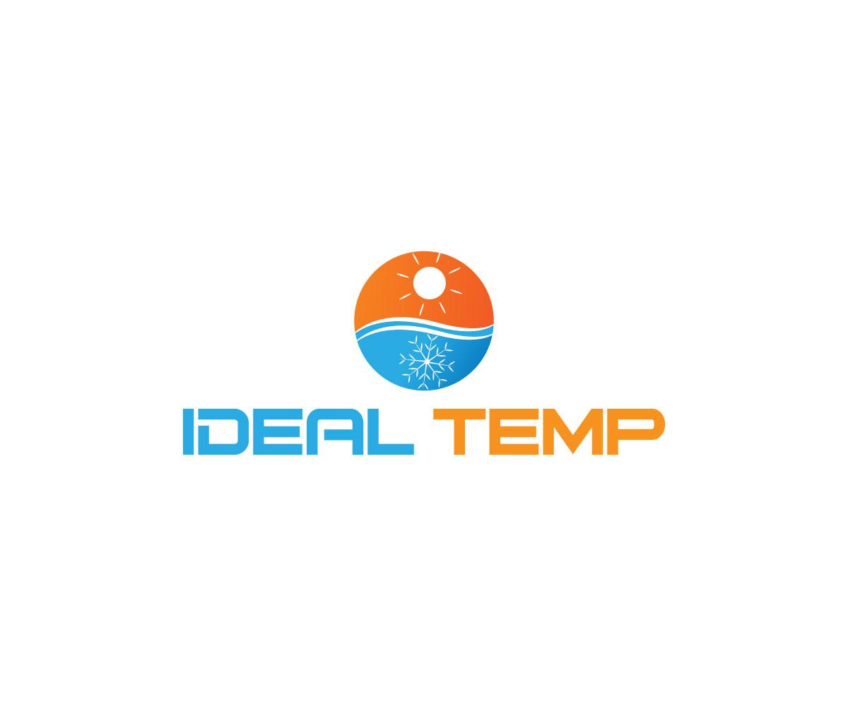Logo Design by Abdur Rahman - Entry No. 130 in the Logo Design Contest Captivating Logo Design for Ideal Temp.