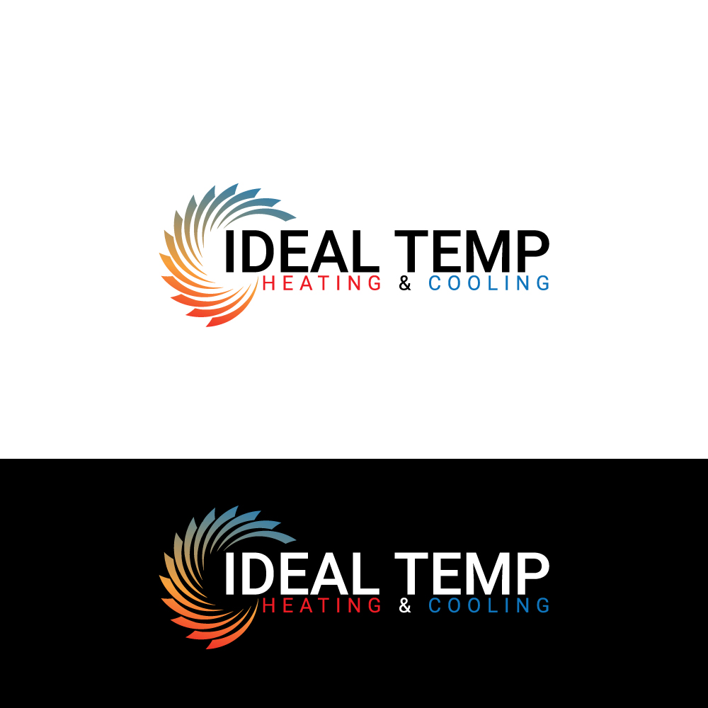 Logo Design by Magic Tools - Entry No. 132 in the Logo Design Contest Captivating Logo Design for Ideal Temp.