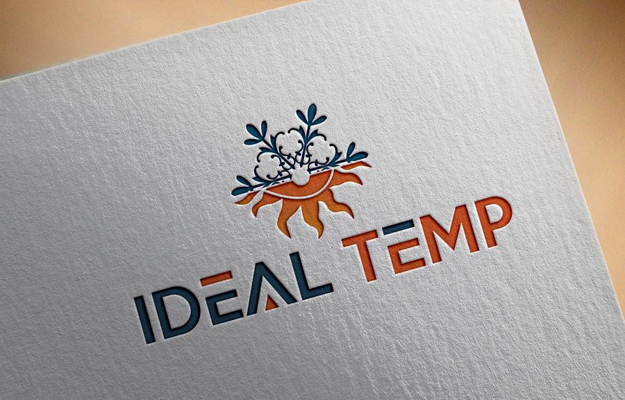 Logo Design by Abdur Rahman - Entry No. 133 in the Logo Design Contest Captivating Logo Design for Ideal Temp.