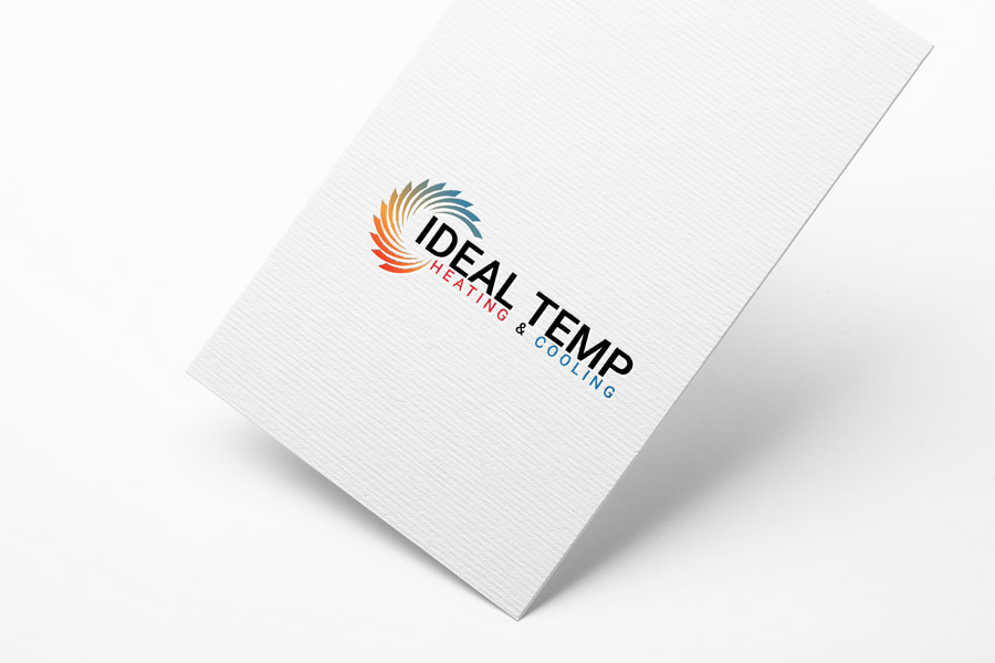 Logo Design by Magic Tools - Entry No. 134 in the Logo Design Contest Captivating Logo Design for Ideal Temp.