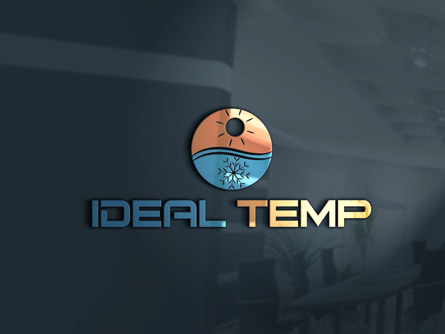 Logo Design by Abdur Rahman - Entry No. 135 in the Logo Design Contest Captivating Logo Design for Ideal Temp.