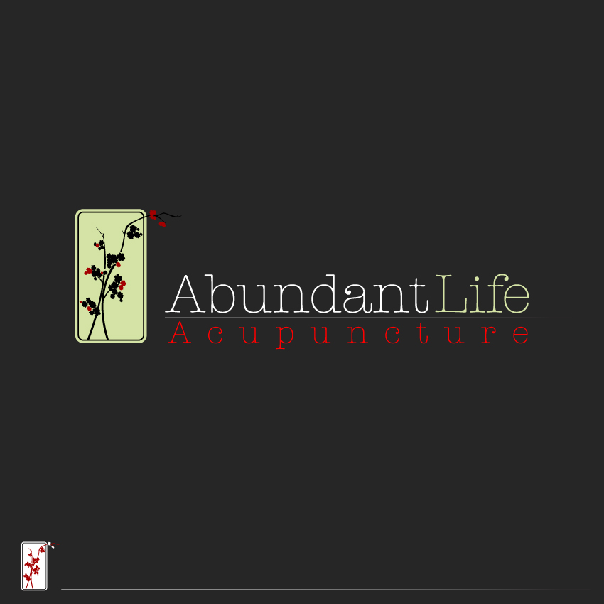 Logo Design by trav - Entry No. 124 in the Logo Design Contest abundant life acupuncture.